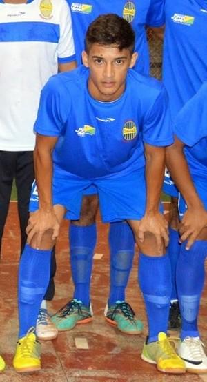 Matheus Tarauacá, Rio Branco-AC (Foto: Raimundo Accioly/Arquivo pessoal)