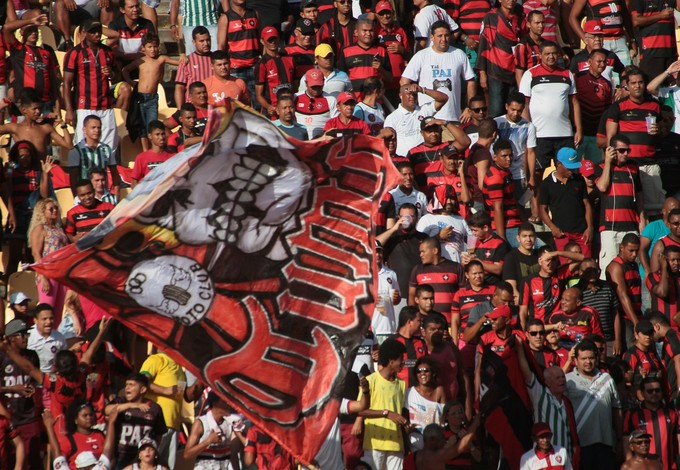 Torcida do Moto Club no Castelão na vitória contra Juazeirense pela Série D (Foto: Biaman Prado/O Estado)