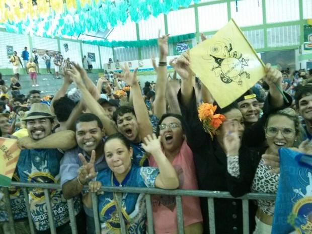 Festival é sucesso de público e lota arquibancadas de ginásio  (Foto: Cinthia Macedo/G1)