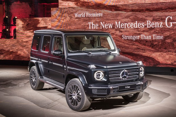 novo mercedes classe g antiquado por fora hi tech por dentro auto esporte not cias. Black Bedroom Furniture Sets. Home Design Ideas