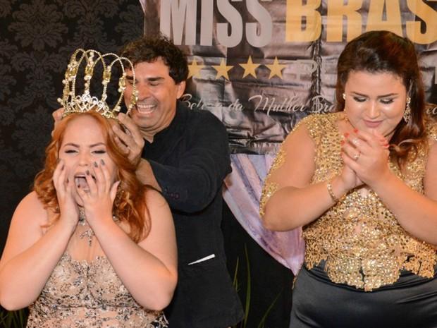 Amanda Vaz é moradora de Jaciara e foi eleita Miss Plus Size Mato Grosso 2016 (Foto: Divulgação)