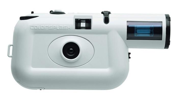 Lomo Colorsplash tem flash com roda de cores integrada (Foto: Divulgação/Lomography)