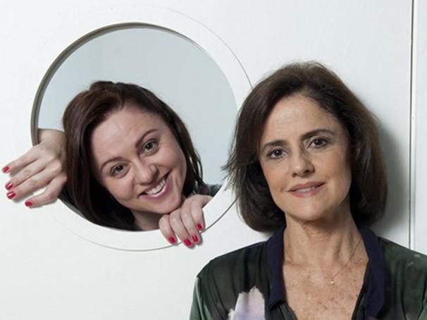 Guta Stresser e Marieta Severo apostam que o sucesso vem da identificação do público com as tramas (Foto: Selmy Yassuda)