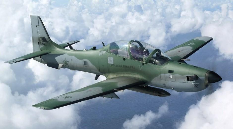 Avião de guerra Super Tucano (Foto: Reprodução)