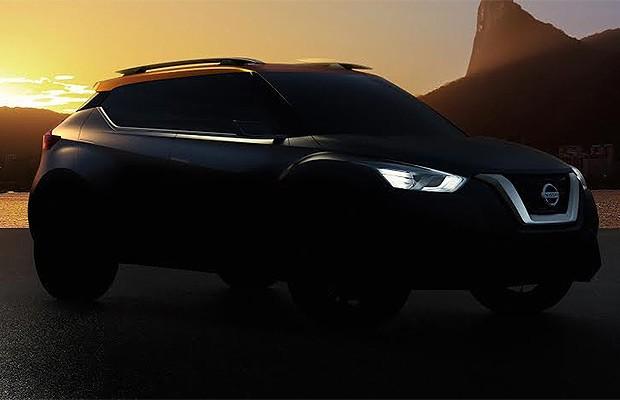 Teaser mostra um pouco mais do novo SUV da Nissan (Foto: Nissan)