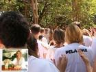 Centenas pedem segurança em ato após morte de mulher em Araraquara