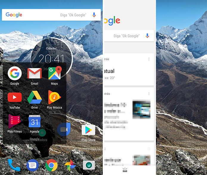 Acesse o app do Google no celular (Foto: Reprodução/Paulo Alves)