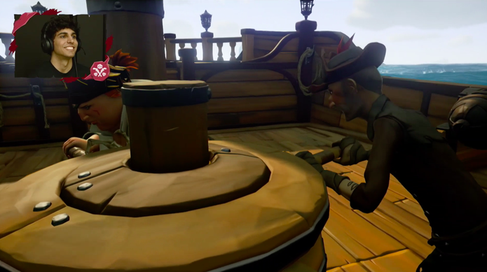 Sea of Thieves gameplay (Foto: Divulgação/Microsoft)