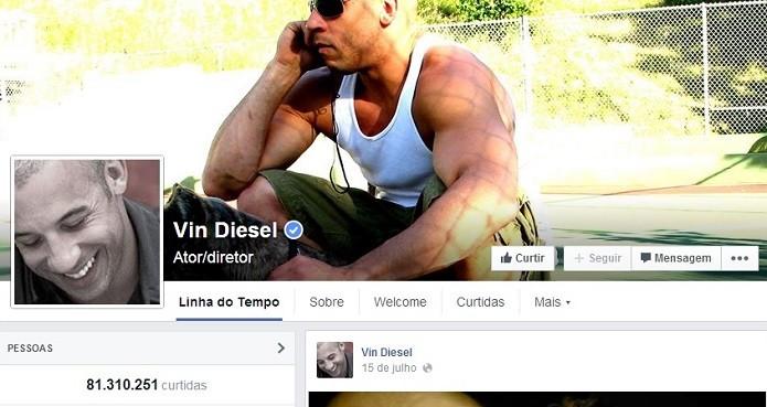 Grandalhão de Velozes e Furiosos tem muitos fãs (Foto: Reprodução/Facebook)