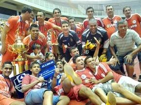 A equipe de Juína é a atual tricampeã do torneio  (Foto: Dhiego Maia/GLOBOESPORTE.COM)