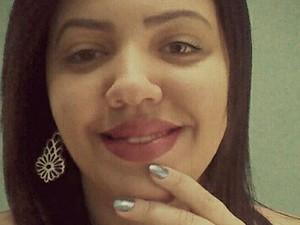 A internauta Thais Cristina é fã do técnico Lulu Santos (Foto: Arquivo pessoal)