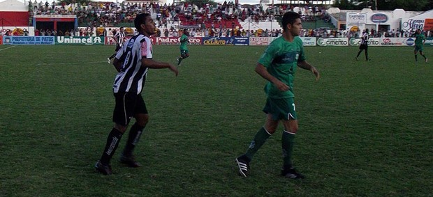Nacional de Patos x Botafogo (Foto: Damião Lucena)