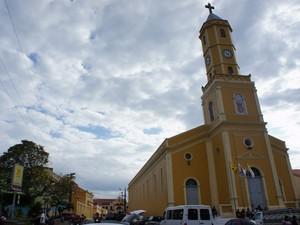 Um dos patrimônios culturais da Paraíba, a cidade de Areia concilia empreendedorismo e turismo (Foto: Jorge Machado/G1)