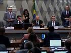 Aliados defendem Dilma; opositores comemoram aprovação de parecer
