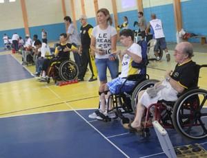 Copa da Baixada Santista de Bocha Paralímpica Guarujá (Foto: Pedro Rezende / Prefeitura de Guarujá)