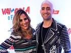 Wanessa aposta em vestidinho para pré-estreia de filme com Paulo Gustavo