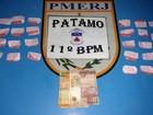 PM detém suspeito de tráfico após denúncia anônima em Friburgo, no RJ
