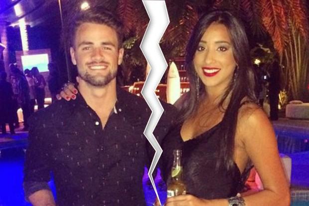 Ex-BBBs Rafael e Talita  (Foto: Divulgação)