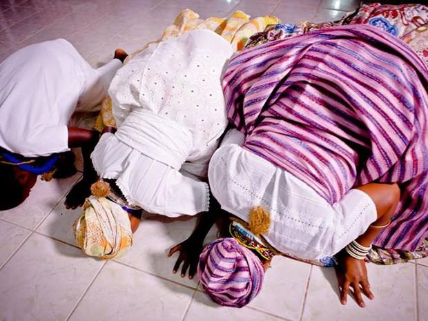 Candomblé resiste à intolerância religiosa por meio da oralidade (Foto: Andréa Montenegro/Arquivo pessoal)