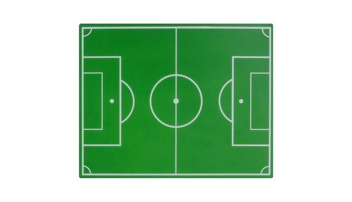 Mouse Pad de campo de futebol (Foto: Reprodução/Tok Stok)