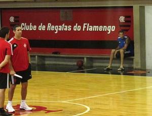 Marquinhos flamengo basquete (Foto: Fabio Leme)