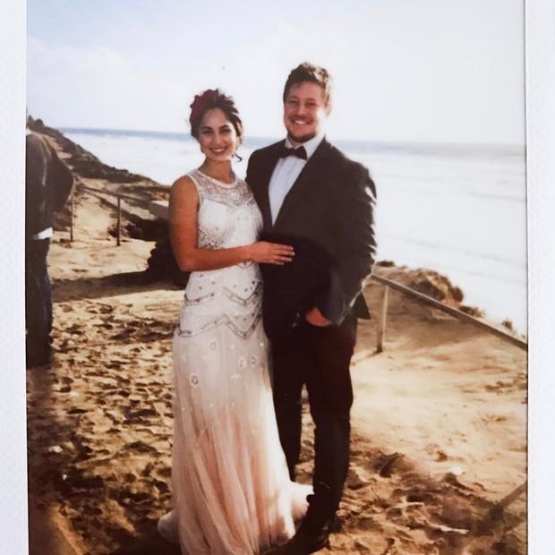 Filha de Kadu Moliterno se casa no Havai (Foto: Divulgação / MF Assessoria)