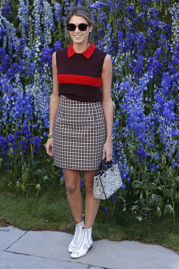 Helena Bordon no desfile da Dior em Paris (Foto: Getty Images)