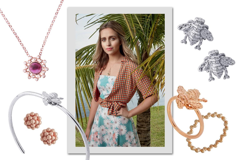 Luisa Schröder e suas joias (Foto: Reprodução/Vogue Brasil)