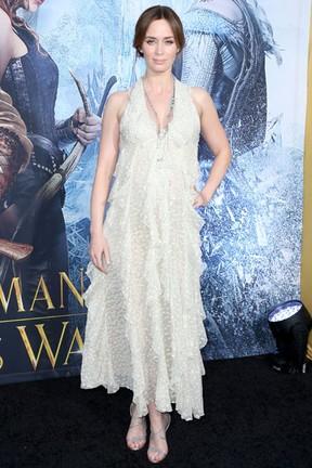 Emily Blunt em première em Los Angeles, nos Estados Unidos (Foto: Frederick M. Brown/ Getty Images/ AFP)