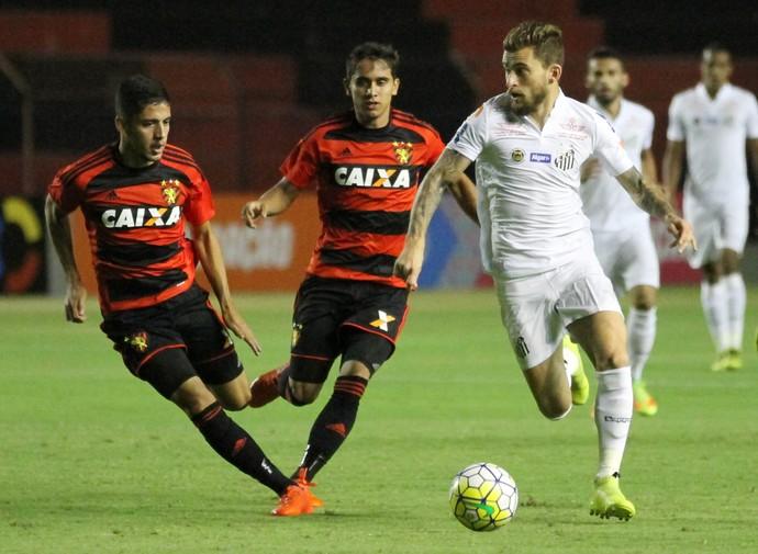 Sport x Santos (Foto: Aldo Carneiro (Pernambuco/Press))
