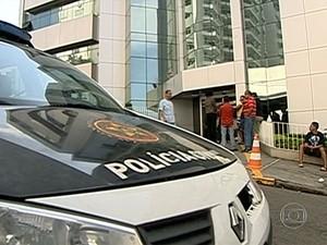 Ítalo foi ransferido para o Hospital Mário Leoni, em Caxias. (Foto: Reprodução / TV Globo)