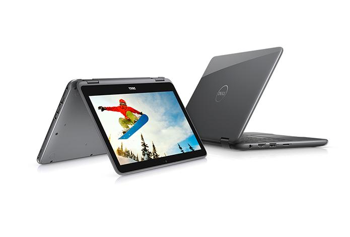 Híbrido tem tela de 11 polegadas e pode virar tablet (Foto: Divulgação/Dell)