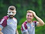 Pratto treina de máscara no São Paulo: o Gladiador que você respeita; fotos