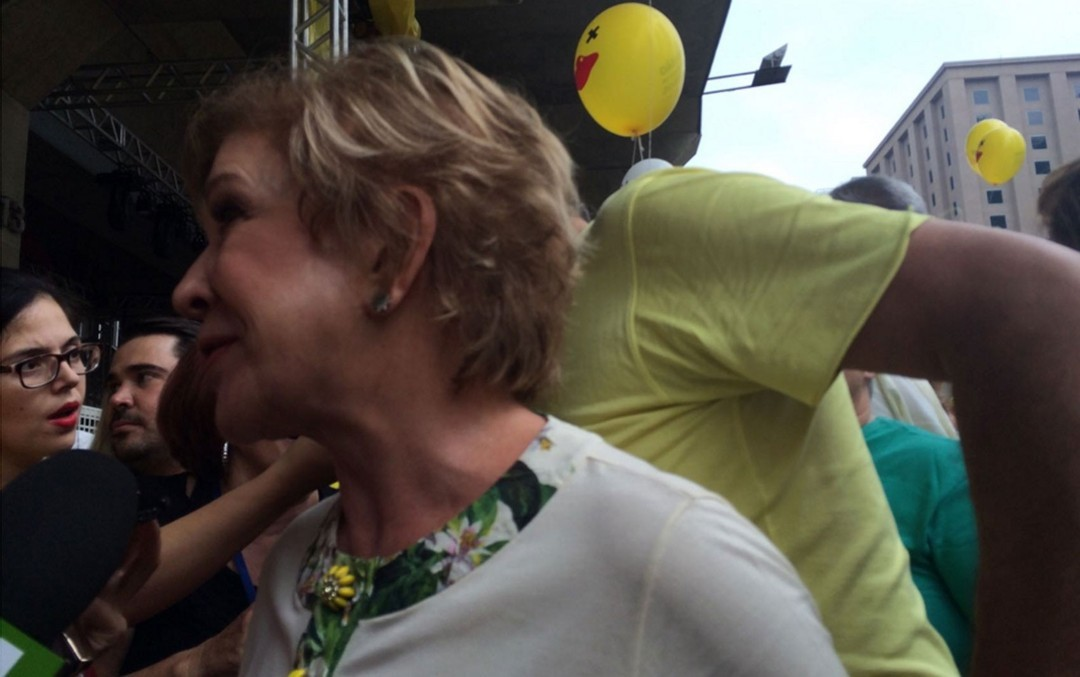 Marta Suplicy hostilizada na Paulista