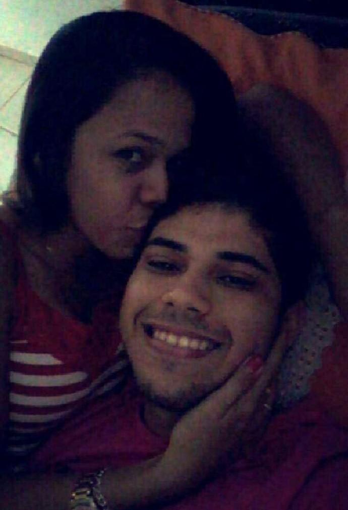 Boa da Semana: Para o Lucas Vinicius  a boa da semana é ficar do lado da namorada Rosa Leticya (Foto: Arquivo pessoal)