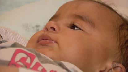 Família de Conceição da Aparecida (MG) luta para salvar vida de criança com doença rara