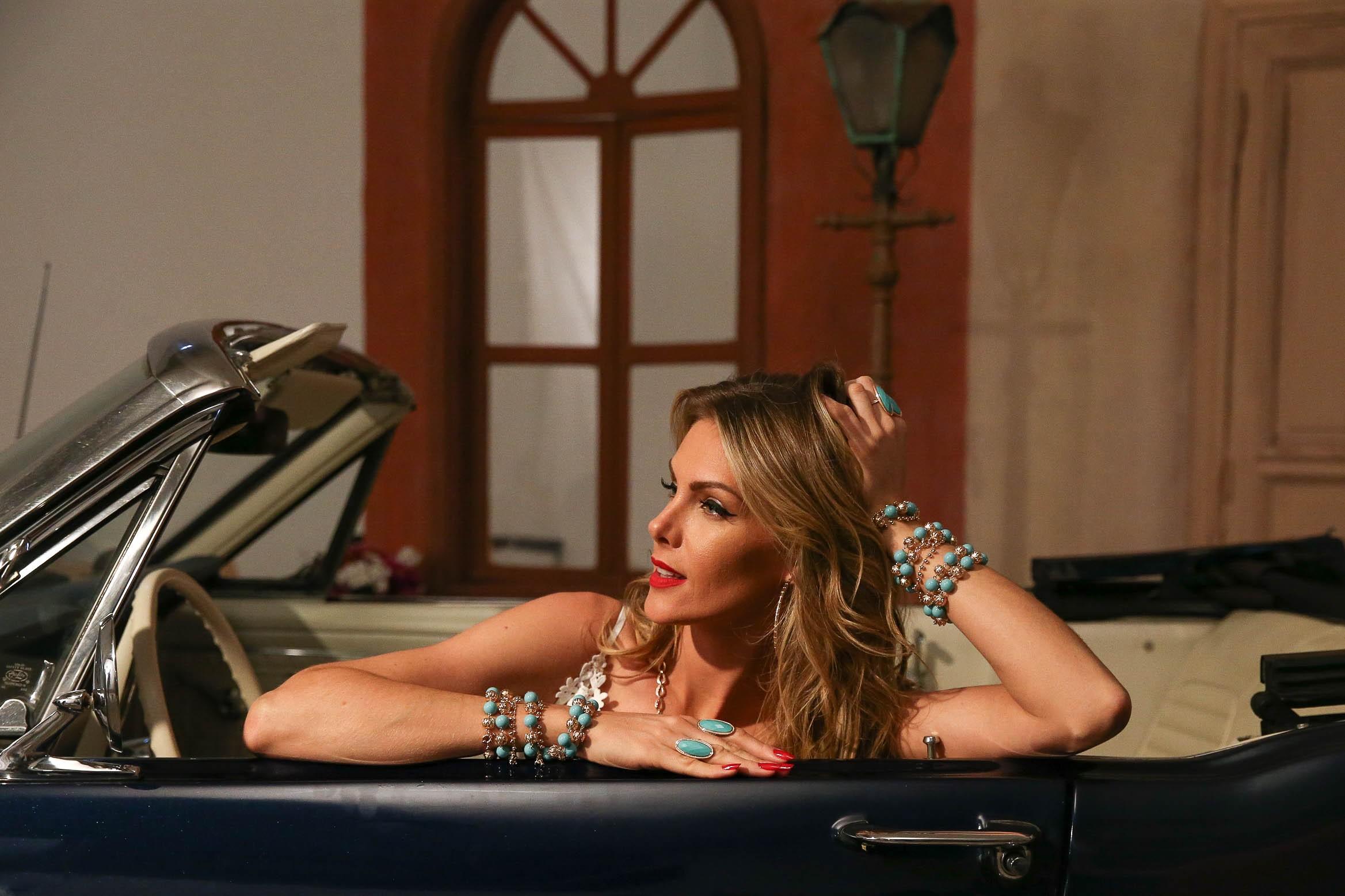 Ana Hickmann diz que mulheres fazem seu próprio tempo (Foto: Raphael Catello/AgNews)
