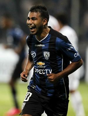 Sornoza Independiente del Valle x Atlético-MG (Foto: Guillermo Granja/ Reuters)