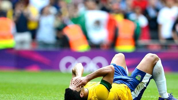 Hulk derrota Brasil final México (Foto: Reuters)