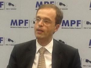 O procurador regional eleitoral, André de Carvalho Ramos (Foto: Roney Domingos/ G1)