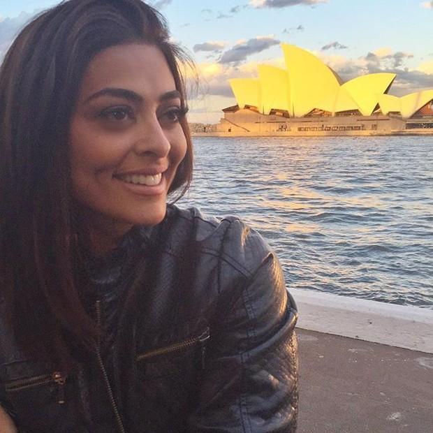 Juliana Paes em Sydney, na Austrália (Foto: Instagram/ Reprodução)