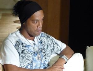 Ronaldinho, Entrevista (Foto: Vicente Seda / Globoesporte.com)