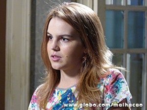 Anita conta que Sofia é afim de Ben (Foto: Malhação / TV Globo)