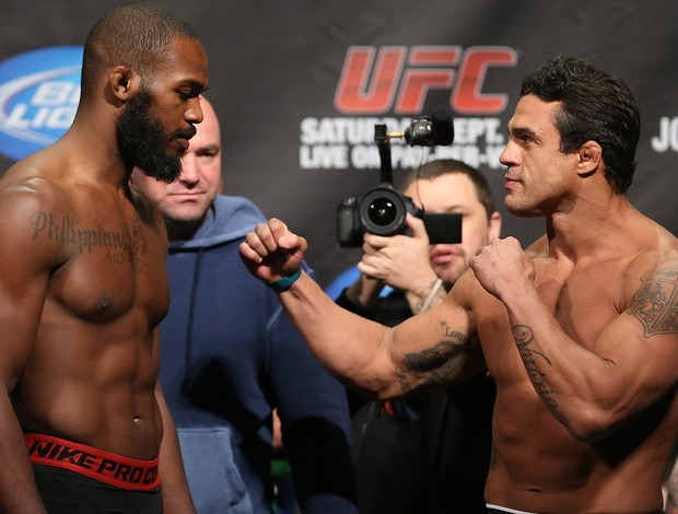 Jon Jones x Vitor Belfort UFC (Foto: Getty Images)