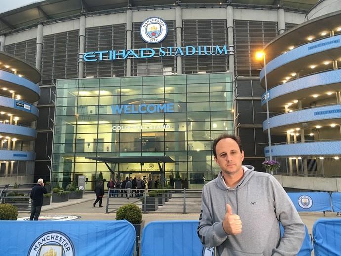 Rogério Ceni Manchester City (Foto: Divulgação)