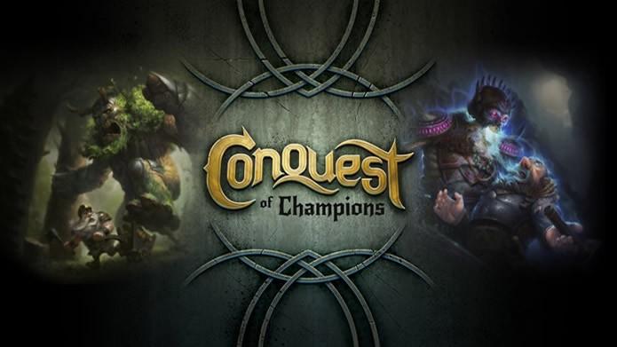 Em Conquest of Champions o jogador irá encontrar uma interessante combinação de estratégia e card game (Foto: Divulgação/ Kihon Inc.)