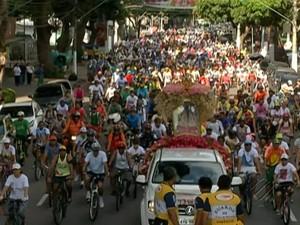 Ciclo Romaria Círio de Nazaré (Foto: Reprodução/TV Liberal)