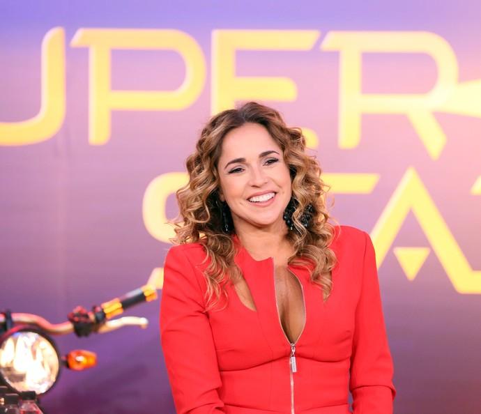 Daniela Marcury comenta seus critérios para avaliar bandas do SuperStar (Foto: Ellen Soares/Gshow)