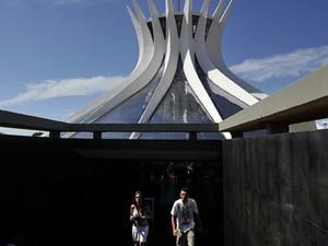 Catedral Metropolitana de Brasília, depois de três anos fechada para reforma (Foto: Marcello Casal Jr./ABr)