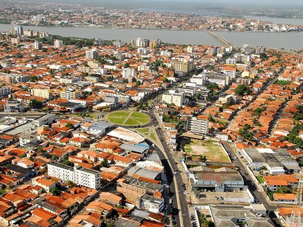 Vista aérea de São Luís (Foto: Divulgação/Setur)